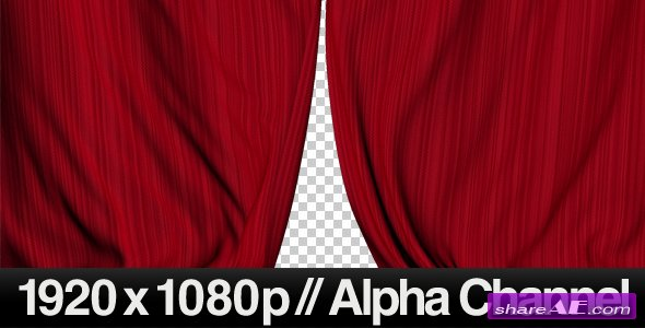 Realistic Red Curtains Closing - Motion Graphics (Videohive)