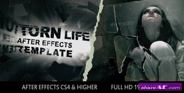 Torn Life - After Effects Templates (Videohive)