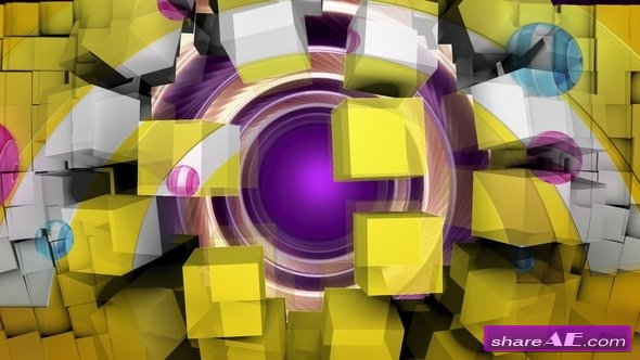 10 Transitions Pack / 3D Cubes Vol. 1 - Motion Graphics (Videohive)