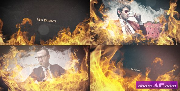 In Flames - An Epic Dynamic Opener - After Effects Templates (Videohive)