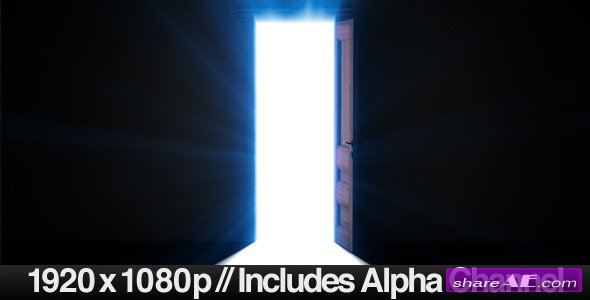 Doorway Opening for Opportunity + ALPHA Channel - Motion Graphics (Videohive)