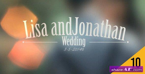 Wedding Titles_ V1 - Videohive