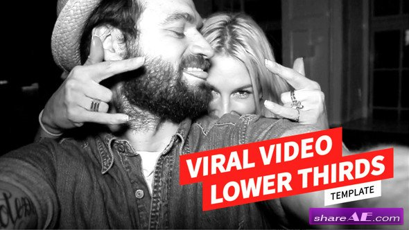 Viral Video Lower Thirds Template - Videohive