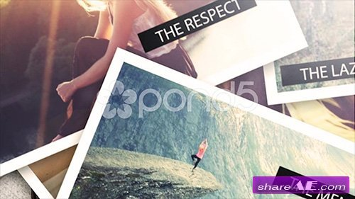 3D Photo Slideshow - After Effects Templates (Pond5)