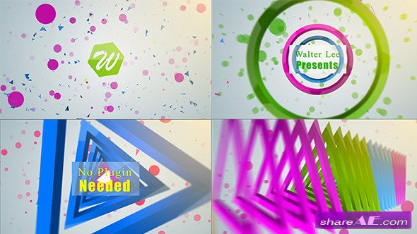Shape Logo Reveal 5 In 1 - Videohive