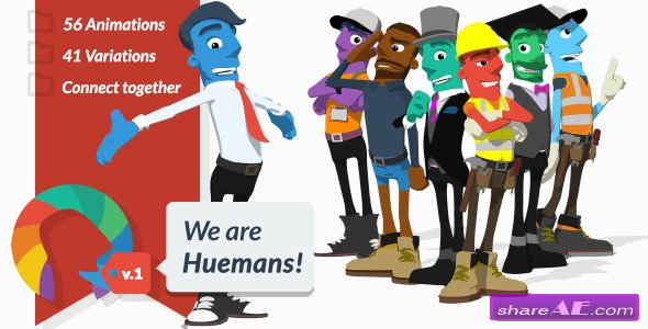 We are Huemans - Videohive