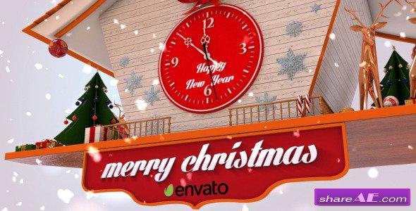 Christmas Cuckoo Clock - Videohive