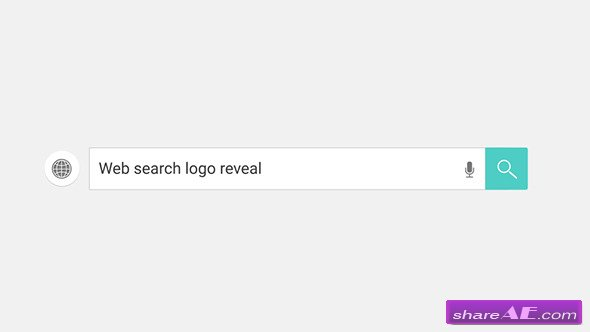 Web Search Logo Reveal - Videohive