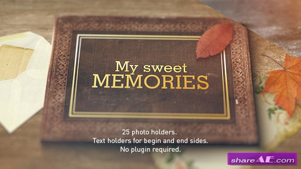 Old Memories Al Gallery Videohive 9788145 Free After Effects Template