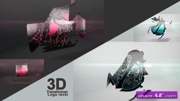 3D Transformer Logo - Videohive