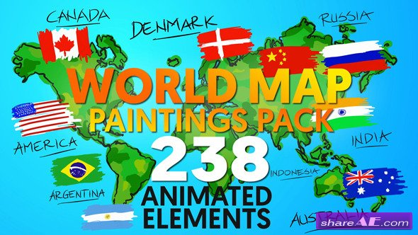 Videohive clean logo 19815838 free after effects templates world map paintings pack videohive world map paintings pack 12070408 videohive free download after effects template after gumiabroncs Image collections