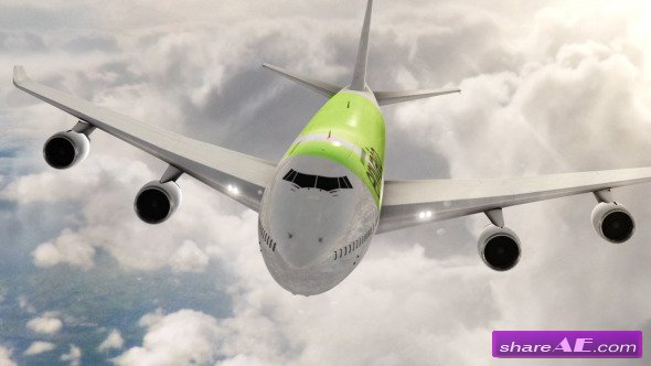 Airplane Branding Package - Videohive