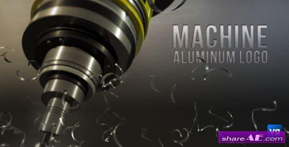Machine aluminum logo - Videohive