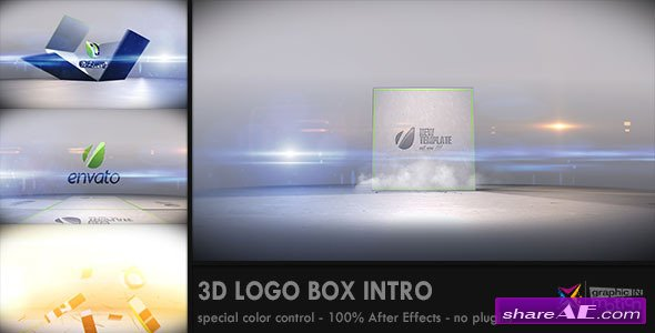 3D Logo Box Intro - Videohive
