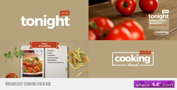 Broadcast Cooking Package - Videohive