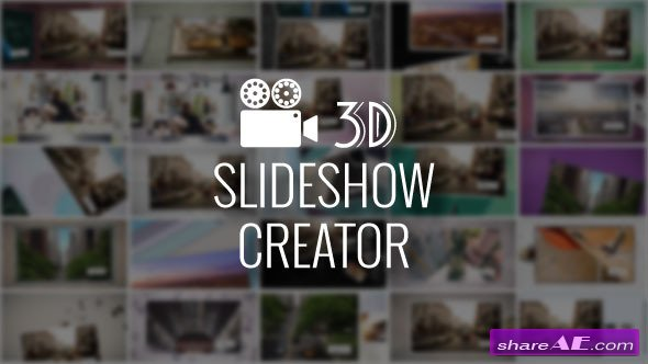 3D Slideshow Creator - After Effects Scripts (Videohive)