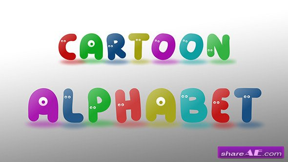 Cartoon Alphabet - Videohive