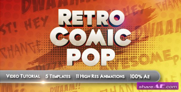 Retro Comic Pop - Videohive