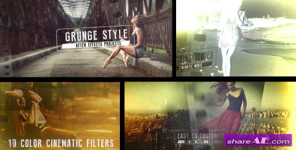 Grunge Film Style - Videohive