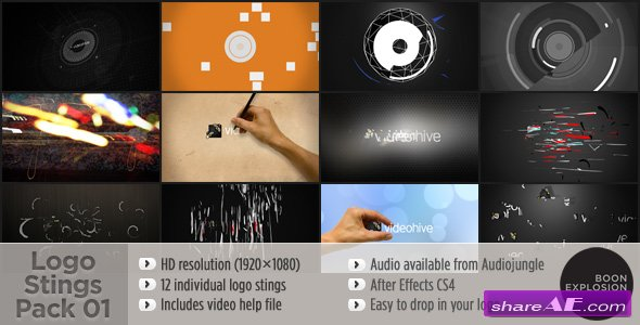 Logo Stings Pack 01 - Videohive