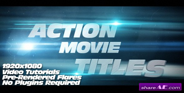 Action Movie Titles - Videohive
