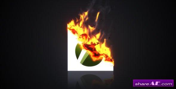 Burning Paper Logo - Videohive