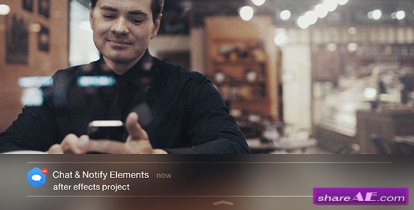 Chat & Notify Elements - Videohive