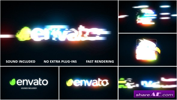 Fast Light Logo Reveal - Videohive