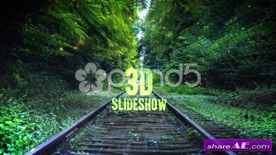 3D Slideshow - After Effects Templates (Pond5)