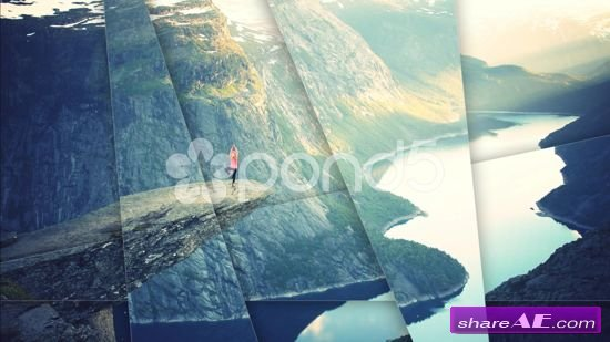 Modern Split Slideshow - After Effects Templates (Pond5)