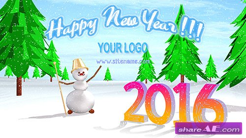 Happy New Year - After Effects Templates (Pond5)