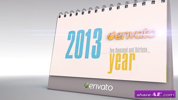 The Desk Calendar - Videohive