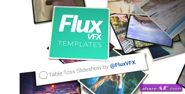 Table Toss Slideshow - Videohive