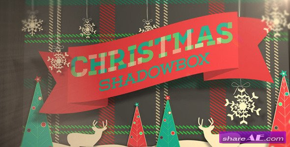 Christmas Shadowbox Display - Videohive