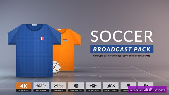 Videohive Royal Football Complete Package-Broadcast Design
