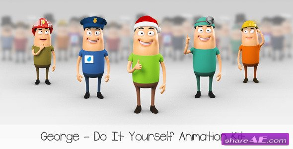 George - Character Animation DIY Kit - Videohive