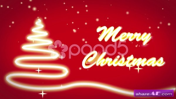 Christmas Intro Opener - After Effects Templates (Pond5)