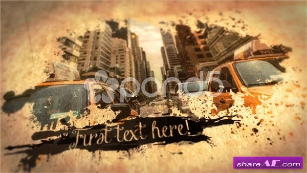 Ink Slideshow - After Effects Templates (Pond5)