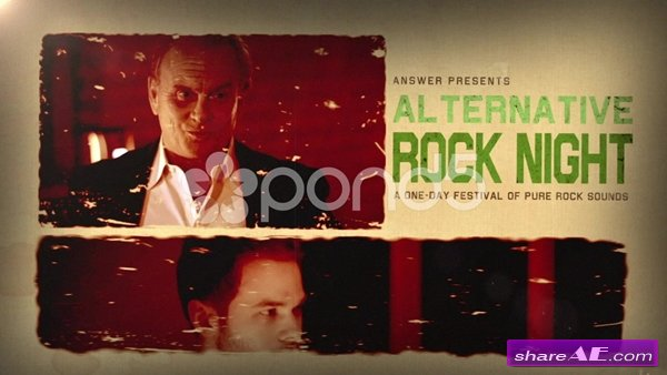 Hard Rock Motion - After Effects Templates (Pond5)