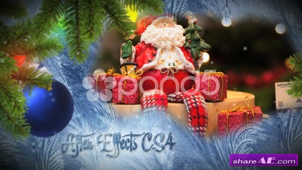 Christmas Freeze Slideshow - After Effects Templates (Pond5)