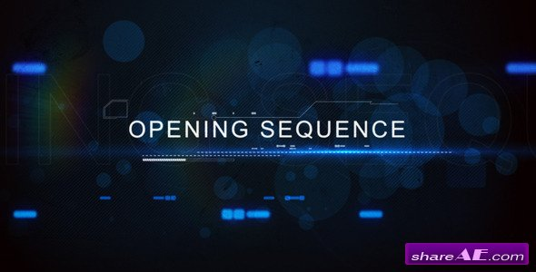 Digital Techno Opening Title - Videohive