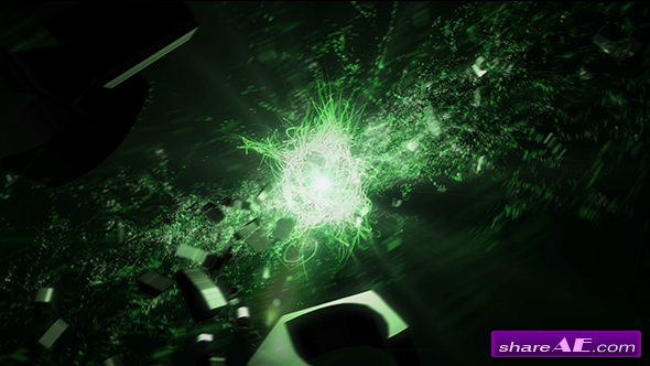 Epic Particles 3D Logo Formation Reveal - Videohive