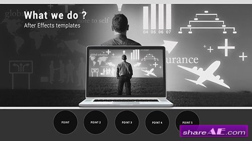 corporate presentation - after effects template (motion array, Presentation templates