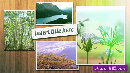 MODERN SLIDESHOW - After Effects Templates (MotionMile)