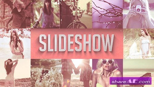 FLIPBOARD SLIDESHOW INTRO - After Effects Templates (MotionMile)