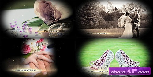 GOLDEN WEDDING PACK - After Effects Templates (MotionMile)