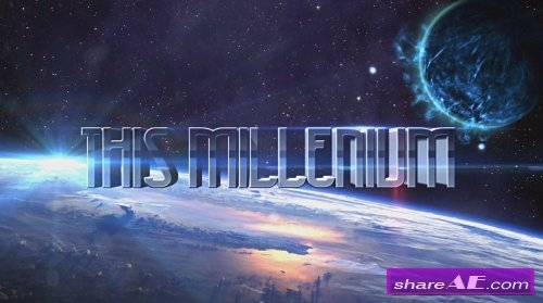 3D SPACE TITLES - After Effects Templates (MotionMile)
