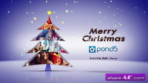 Christmas Tree (Music Included) - After Effects Templates (Pond5)