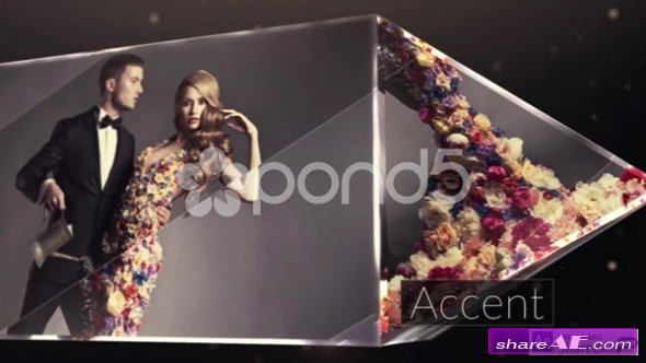 Accent - Crystal Modern Slideshow - After Effects Templates (Pond5)