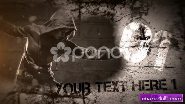 Grunge Story - After Effects Template (Pond5)
